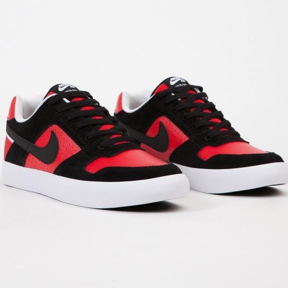 Nike Sb Delta Force Vulc Bred Sneakers